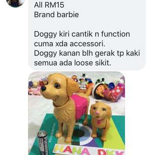 Barbie Doll Dog Toys