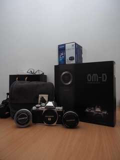 Omd Em10 mark ii full set