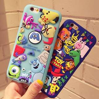 monster inc / toy story iphone case 💕