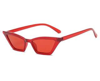 The Red Skinny Cat Shades