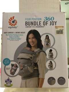 Ergo baby carrier + infant insert