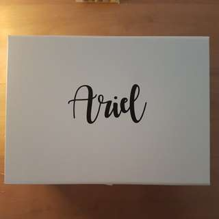 customize name cut out for bridesmaid boxes/mothers' day box