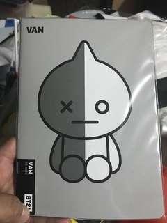 BT21 Notebook - Van