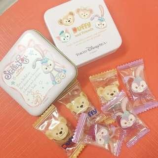 日本disneysea 購入stellalou 鐵盒糖果