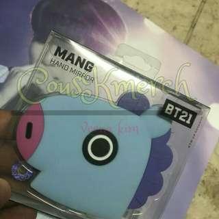 BTS BT21 Official Mang Mirror