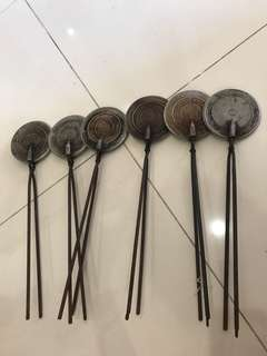 Vintage kuih kapek maker