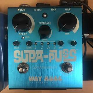 Dunlop Way Huge Supa Puss analog delay pedal