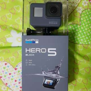 GoPro Hero 5 Black with Warranty