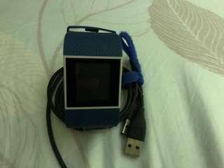 Fitbit surge L size Blue