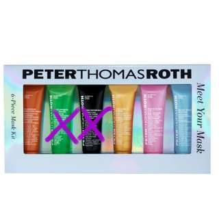 Peter thomas roth mask ( 4piece)