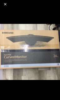 Wts Brandnew Samsung curved monitor 24 c390f $210
