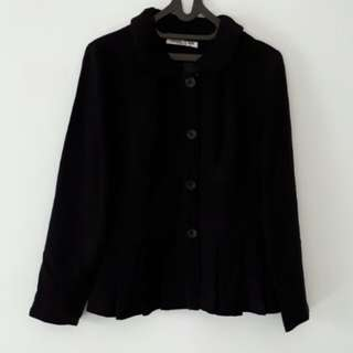 Baju kerja (Blazer) hitam lucu cerbruti