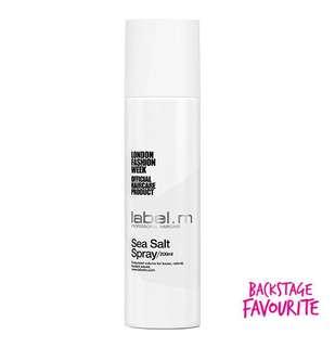 Label. M Sea Salt Spray