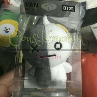 BTS BT21 Official Van Bag Charm
