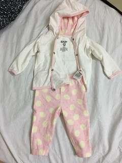 Matching jacket and bottom Newborn