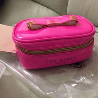 **Ted Baker pink jewelry case BRAND NEW~~~*
