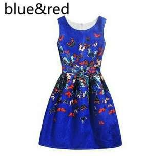 Teenager Butterfly dress
