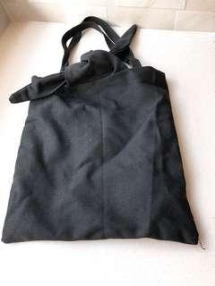 實用袋 black bag 黑色 tote bag