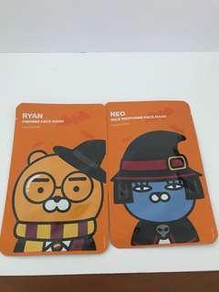 The Face Shop Kakao Friends Neo And Ryan Face mask
