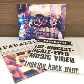 Girls' Generation - Paparazzi (First Press Limited Edition)