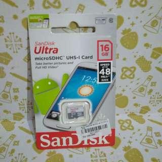 Micro sd 16 gb sandisk