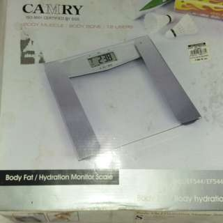 Camry Body Fat/Hydration Monitor Scale