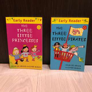 Early Reader - The Three Little Princesses, The Three Little Pirates