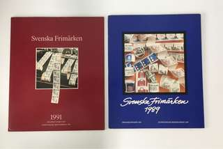 Sweden Stamps Collection 1989 & 1991