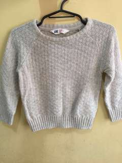 H&M Knitted Sweater US 2-4y
