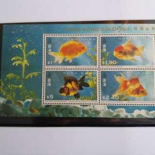 1993年香港金魚郵票