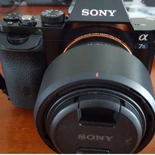 Sony α7S E-mount Camera with Sony 50mm Prime Lens and Accessories