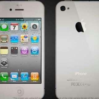 Iphone 4 white 16gb