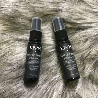 NYX Matte Finishing Makeup Spray 18mL