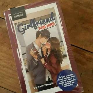 Girlfriend For Hire Wattpad book