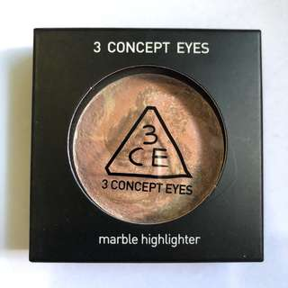 3CE Marble Highlighter