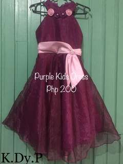 Purple Dress (Ages 6-9)