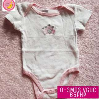 Onesies for 0-3mos VGUC