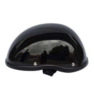 Harley Davidson style half face helmet