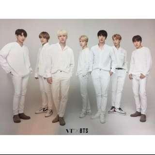 BTS X VT Poster