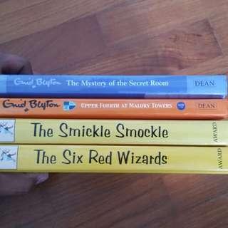 Hardcover Enid Blyton Books.