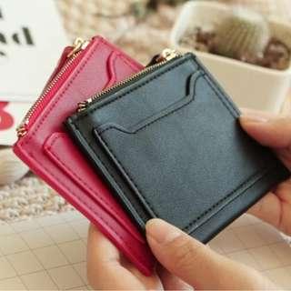 F21 Forever 21 卡包迷你拉鍊小錢包 地鐵 銀行卡小包 硬幣包零錢包簡約休閒