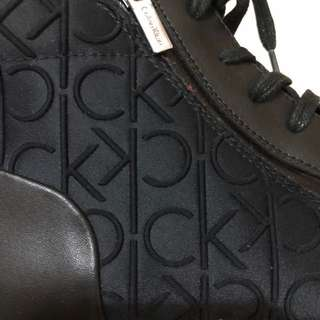 Authentic Calvin Klein mid cut boots