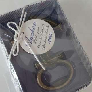 Anchor bottle opener favour/gift