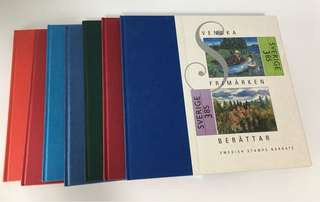 Sweden Stamps Year Books 1989 to 1996