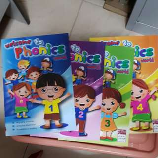 Welcome to Phonics World  book 1 to 4