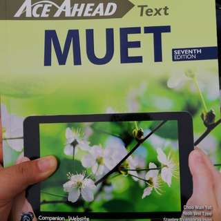 Ace Ahead MUET Text (7th Edition)