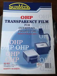 OHP transparency film