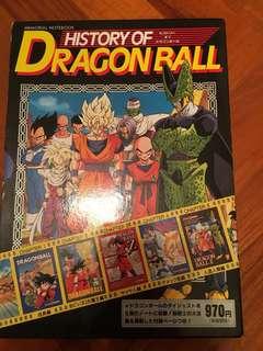 Dragonball memorial notebook 龍珠限量版