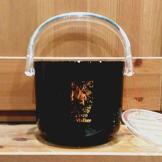 JOHNNIE WALKER Glass Ice Bucket