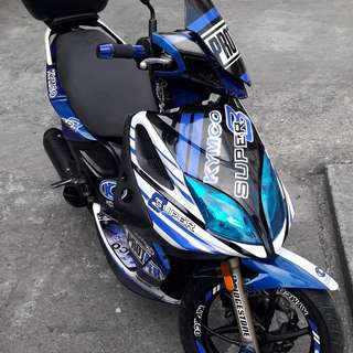 Kymco super8 125cc 2013/14 model blue